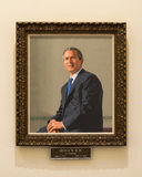 George W. Bush formal portrait Royalty Free Stock Image