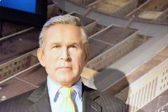 George W Bush-Wachsfigur Stockfotografie