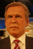 George W. Bush Wax Figure Royalty Free Stock Photos