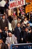 George Wallace delta i en kampanj för president i 1968. Arkivfoton