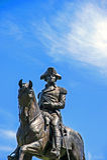 George Washigton Statue fotografia de stock royalty free