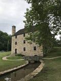 George Washingtonâ-€™s Mahlgut-Mühle Stockfotografie