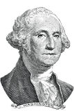 George Washington (διάνυσμα) Στοκ Φωτογραφίες