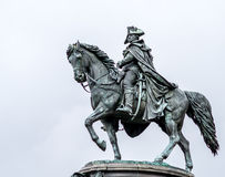 George Washington μια βροχερή ημέρα στη Φιλαδέλφεια Στοκ εικόνα με δικαίωμα ελεύθερης χρήσης