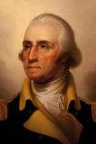 George Washington. A portrait of George Washington is on display at the National Portrait Gallery where millions of visitors go to take in the sights of all of