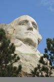 George Washington 3. Closeup view of George Washington on Mount Rushmore National Monument in the Black Hills of South Dakota Stock Images