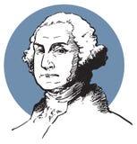 George Washington. An illustration of the famous american president George Washington Royalty Free Stock Photos