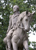George Washington. On Horse Stock Photo