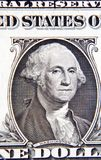 George Washington. On American one dollar banknote Stock Photo
