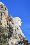 George Washington au monument national du mont Rushmore Image libre de droits
