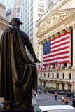 George Washington au NYSE Photographie stock libre de droits