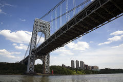 George Washington Bridge royalty free stock photo