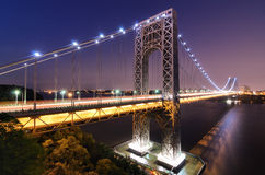 George Washington Bridge Royalty Free Stock Image