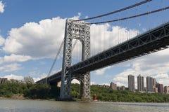 George Washington Bridge. The George Washington Bridge spans across the Hudson River Stock Images