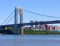 George Washington Bridge Fotografering för Bildbyråer
