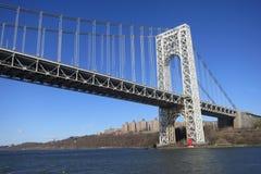 George Washington Bridge Imágenes de archivo libres de regalías