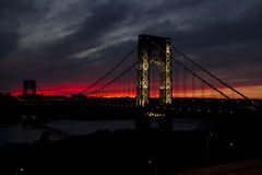 George Washington Bridge Fotografia Stock Libera da Diritti
