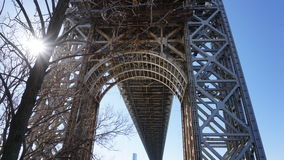 George Washington Bridge 102 Royaltyfri Bild