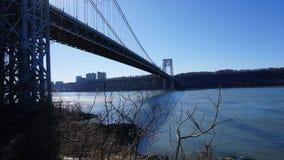 George Washington Bridge 110 Royaltyfri Bild