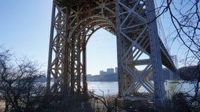 George Washington Bridge 12 Arkivfoto