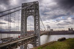 George Washington Bridge Fotografia Stock Libera da Diritti
