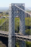 George Washington Bridge aereo Immagini Stock