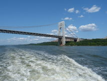The George Washington Bridge Royalty Free Stock Photo
