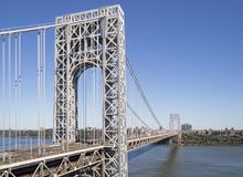 George Washington Bridge. George Washington Bridge, New York City Royalty Free Stock Images