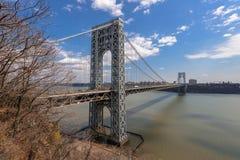George Washington Bridge Royalty Free Stock Photos