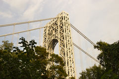 George Washington Bridge, New Jersey Royalty Free Stock Photos