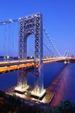 George Washington Bridge in New York Royalty Free Stock Photos