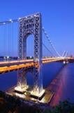 George Washington Bridge in New York Royalty Free Stock Photos