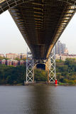 George Washington Bridge, New York Royalty Free Stock Images