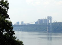 George Washington Bridge. The George Washington Bridge in New York Stock Images