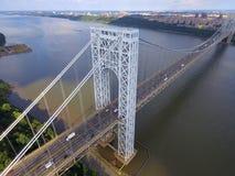 George Washington Bridge New York Foto de Stock