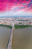 George Washington Bridge, New York City Royalty Free Stock Images