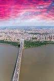 George Washington Bridge New York City Royaltyfria Bilder