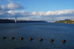 George Washington Bridge, New York City Image stock