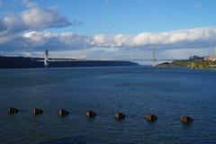 George Washington Bridge, New York City image stock