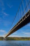 George Washington Bridge in New York. George Washington Bridge in New York City Stock Images