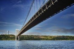 George Washington Bridge in New York. George Washington Bridge in New York City - HDR image Stock Photos