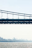 George Washington Bridge in New York Royalty Free Stock Photography