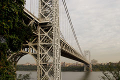George Washington Bridge, NJ Royalty Free Stock Image