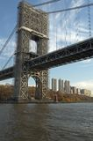 George Washington Bridge NYC Royalty Free Stock Image