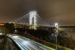 George Washington Bridge - NYC royalty free stock photos