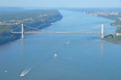 George Washington Bridge, NYC Royalty Free Stock Photo
