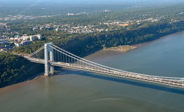 George Washington Bridge, NYC Stock Image