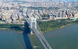 George Washington Bridge, NYC Stock Images