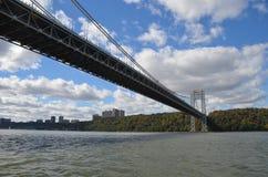 George Washington Bridge, NYC Royalty Free Stock Image