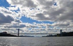 George Washington Bridge, NYC Royalty Free Stock Images